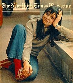 Maynard à 18 ans en couverture du NY Times